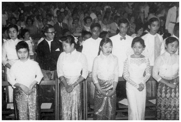 1959 Graduation Ceremony
