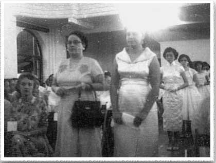 1960 Graduation Ceremony
