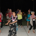 "Swaying to ""Aloha Oe"" with (Faith) Tin Myaing Thein"